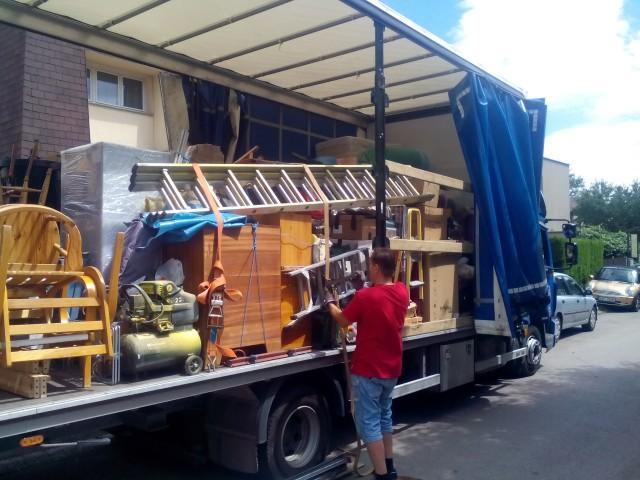 Ukázka z našeho stěhování do zámoří