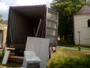Ukázka z nedávného stěhování